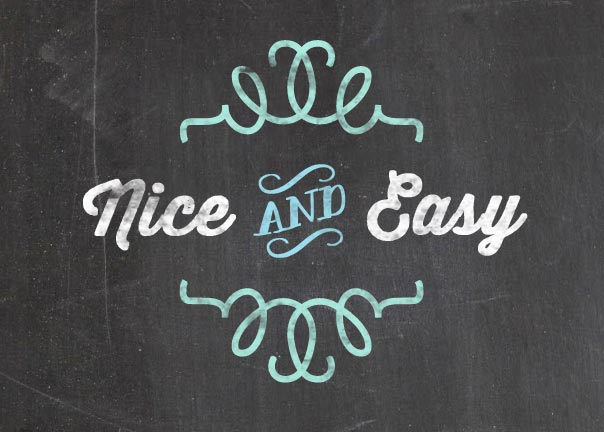 Chalkboard style: how to easily make a chalkboard look and feel