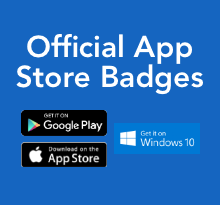 Official App Store Badges