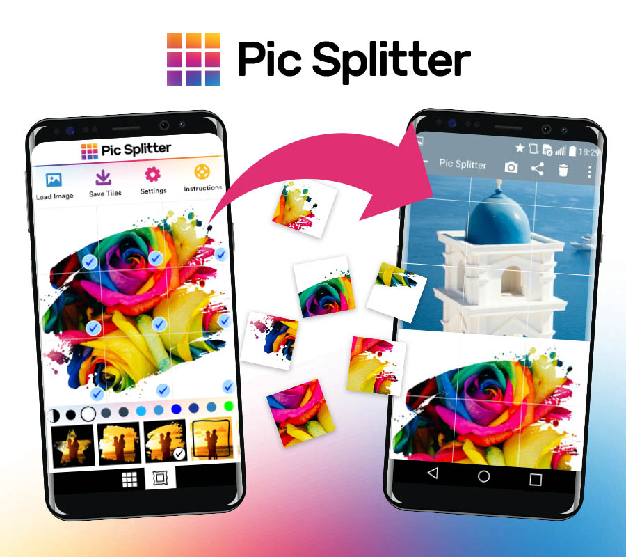 Pic Splitter Demo