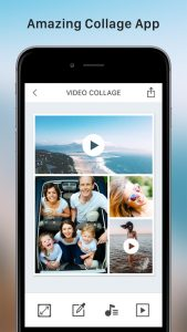 Video Collage and Photo Grid app screenshot