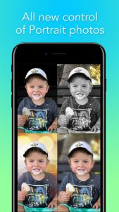 All new control of Portrait Photos