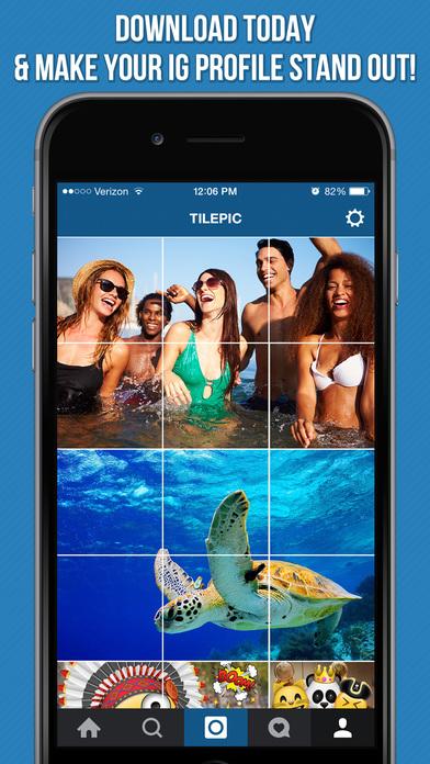 Con Tile Pic puede dividir tus fotografías en piezas más pequeñas para Instagram